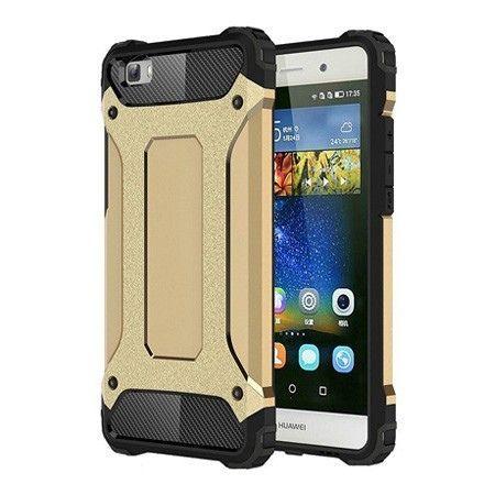 Pancerne etui na Huawei P8 Lite - Złoty