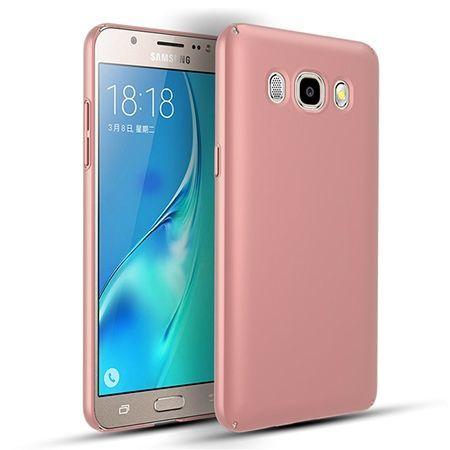 Etui na telefon Samsung Galaxy J7 2016 Slim MattE - różowy.