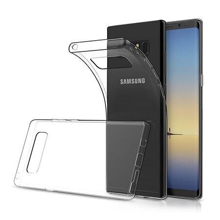 Etui na Galaxy Note 8 silikonowe, przezroczyste crystal case.