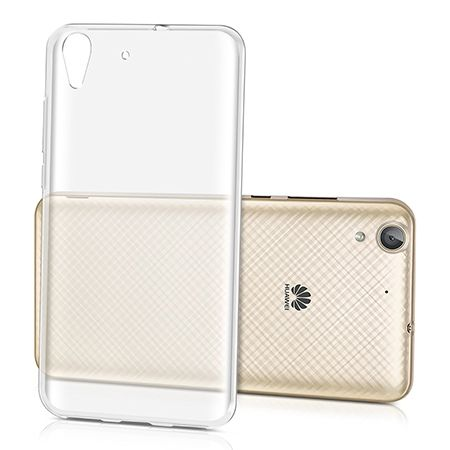 Etui na Huawei Y6 II silikonowe, przezroczyste crystal case.