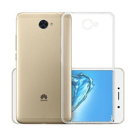 Etui na Huawei Y7 silikonowe, przezroczyste crystal case.