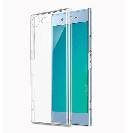 Etui na Xperia XZ1 silikonowe, przezroczyste crystal case.