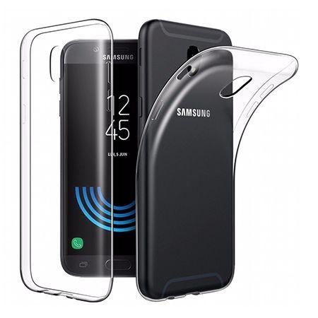 Etui na Galaxy J7 2017 silikonowe, przezroczyste crystal case.