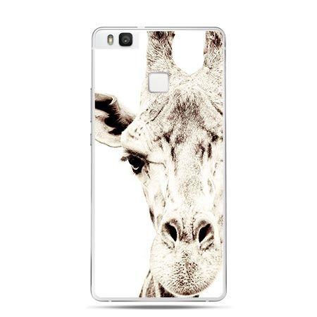 Etui na Huawei P9 Lite głowa żyrafy, żyrafa.