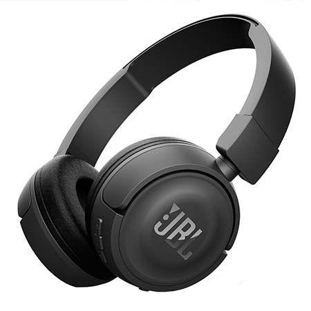 Słuchawki bezprzewodowe Bluetooth JBL - Czarne.