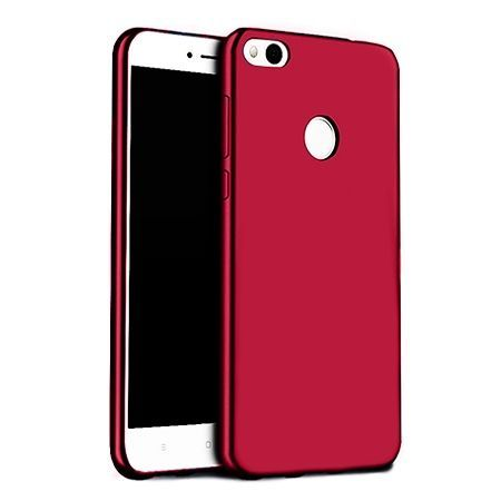 Etui na telefon Huawei P9 Lite mini - Slim MattE - Czerwony.