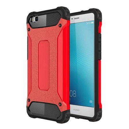 Huawei P8 pancerne etui na telefon - Czerwony.