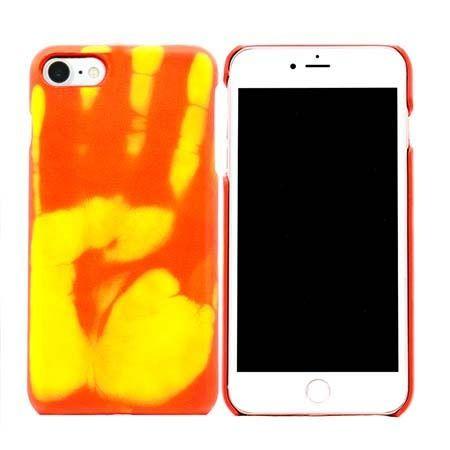 Termiczne etui na iPhone 7 elastyczne - czerwony.
