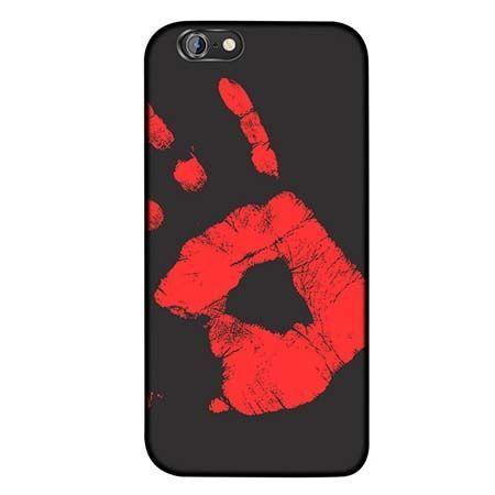 Termiczne etui na iPhone 6 / 6s elastyczne - czarny.