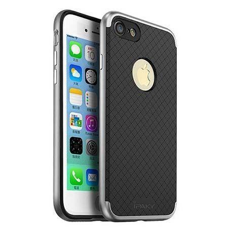 Etui na iPhone 7 bumper Neo iPAKY - srebrny.