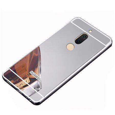 Etui na Huawei Mate 10 Lite Mirror bumper case - Srebrny.