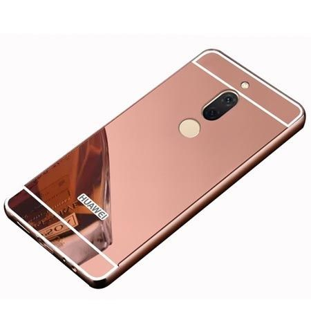 Etui na Huawei Mate 10 Lite Mirror bumper case - Różowy.