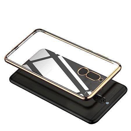 Etui na Huawei Mate 10 Lite platynowane SLIM tpu - Złoty.