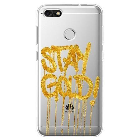 Etui na Huawei P9 Lite mini - Stay Gold.