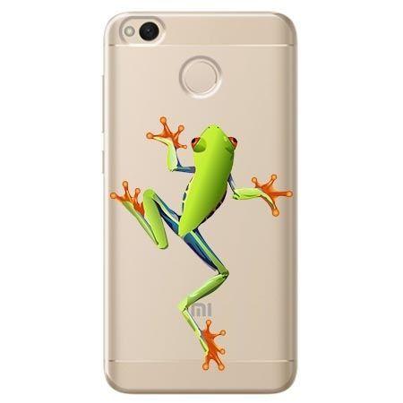 Etui na Xiaomi Redmi 4X - zielona żabka.