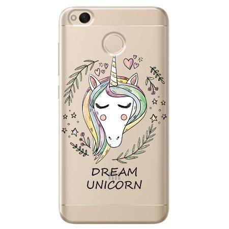 Etui na Xiaomi Redmi 4X - Dream unicorn - Jednorożec.