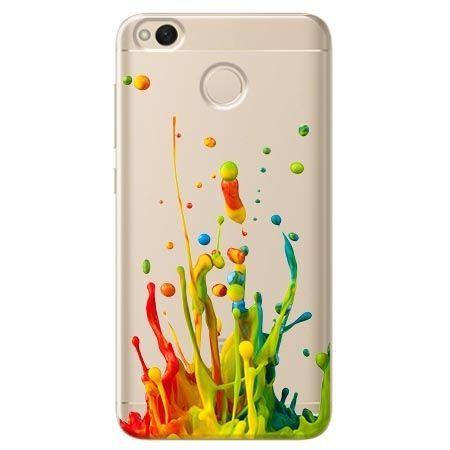 Etui na Xiaomi Redmi 4X - kolorowy splash.