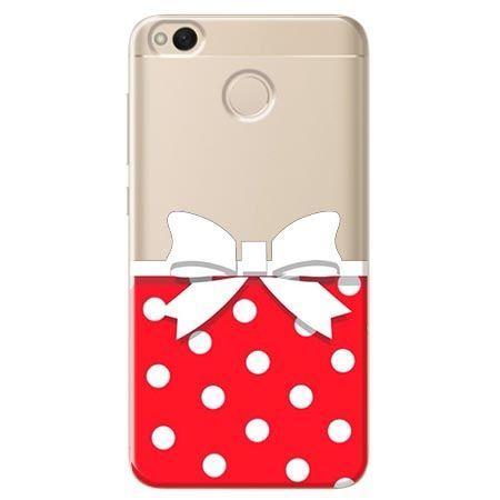Etui na Xiaomi Redmi 4X - gustowna kokardka.