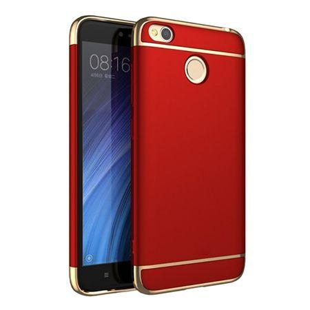 Etui na telefon Xiomi Redmi 4X - Slim MattE Platynowane - Czerwony.