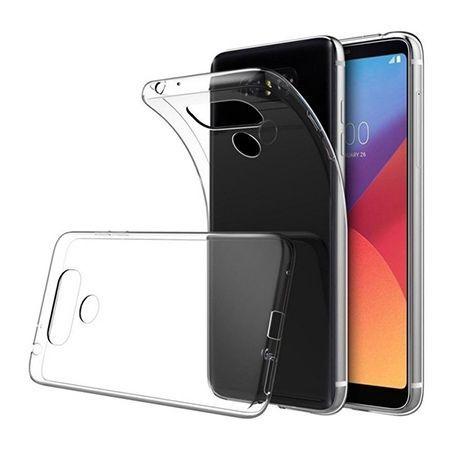 Etui na LG G6 - silikonowe, przezroczyste crystal case.