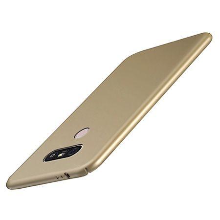Etui na telefon LG G6 - Slim MattE - Złoty.