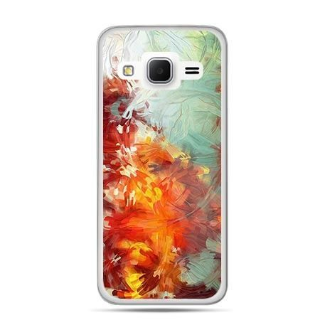 Etui na Galaxy J3 (2016r) kolorowy obraz