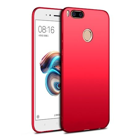 Etui na telefon Xiaomi Mi 5x - Slim MattE - Czerwony.