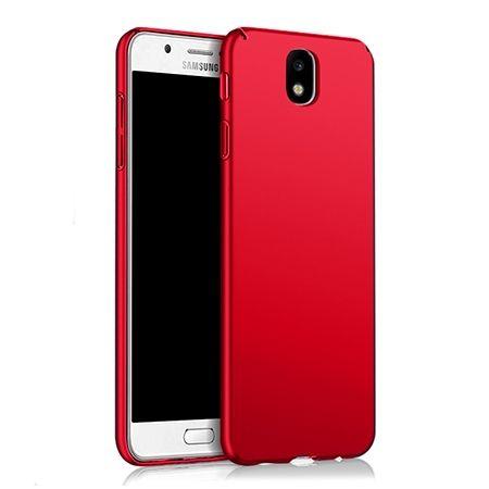 Etui na telefon Samsung Galaxy J7 2017 -  Slim MattE - Czerwony.