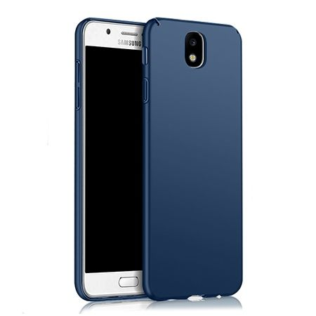Etui na telefon Samsung Galaxy J7 2017 -  Slim MattE - Granatowy.