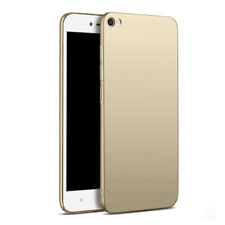 Etui na telefon Xiaomi Redmi Note 5A -  Slim MattE - Złoty.