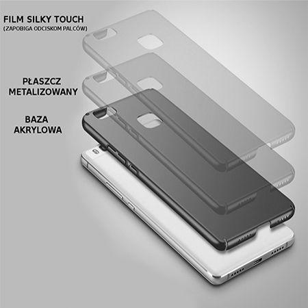 Etui na telefon Huawei P9 Lite - Slim MattE - Czarny.