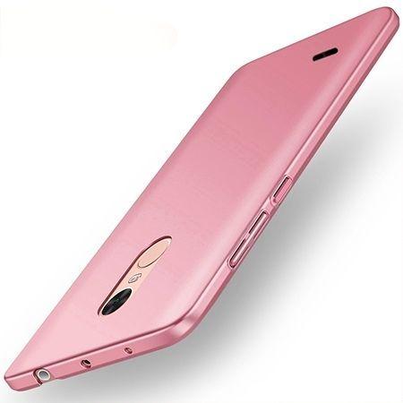 Etui na telefon LG K8 2017 - Slim MattE - Różowy.