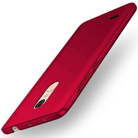Etui na telefon LG K4 2017 - Slim MattE - Czerwony.