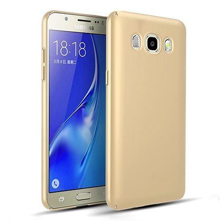 Etui na telefon Samsung Galaxy J7 2016 - Slim MattE - Złoty.