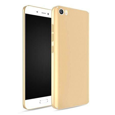 Etui na telefon Xiaomi Mi 5  - Slim MattE - Złoty.