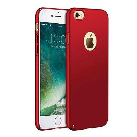 Etui na telefon iPhone 8 - Slim MattE - Czerwony.