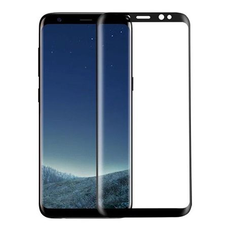 Hartowane szkło na cały ekran 3d Galaxy Note 8 - Czarny.