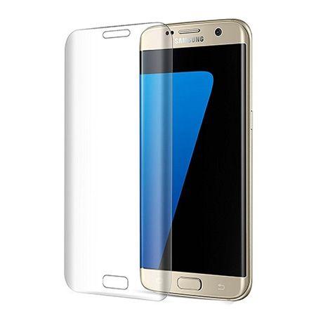 Galaxy Note S6 Edge Plus - hartowane szkło 3D na cały ekran - Bezbarwny.