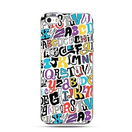 Etui kolorowy alfabet