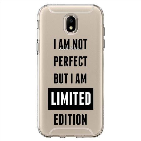 Etui na Samsung Galaxy J7 2017 - I Am not perfect…