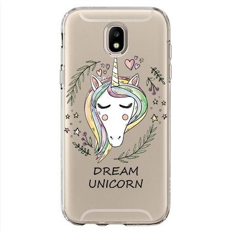 Etui na Samsung Galaxy J7 2017 - Dream unicorn - Jednorożec.