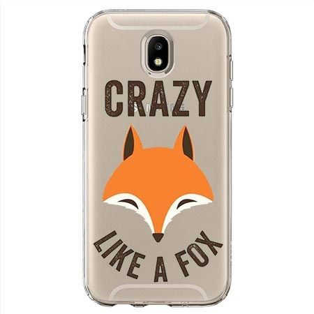 Etui na Samsung Galaxy J7 2017 - Crazy like a fox.