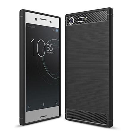 Etui na Sony Xperia XZ Premium - bumper Neo CARBON - Czarny.