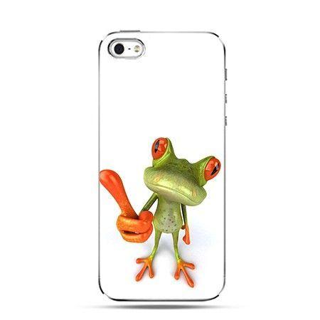 Etui  śmieszna żaba