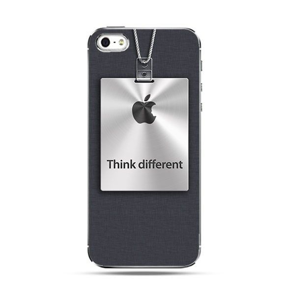 Etui Think Different logo Apple