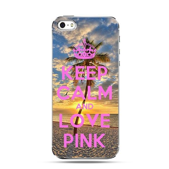 Etui Keep Calm and Love Pink