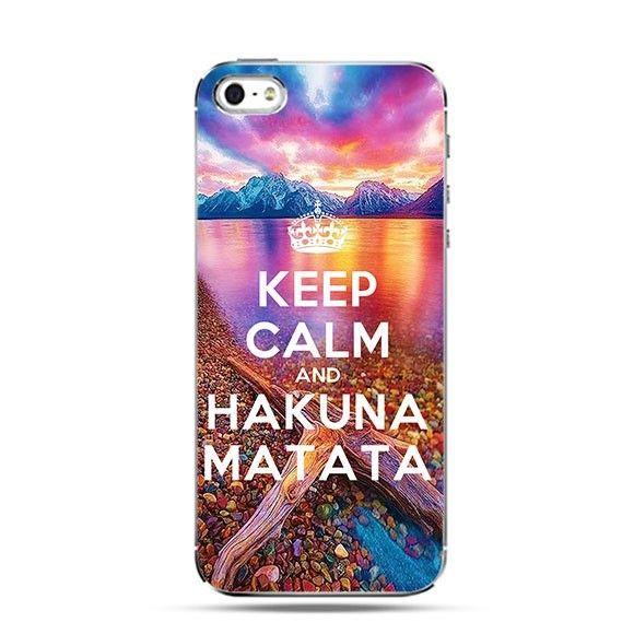 Etui Keep Calm and Hakuna Matata