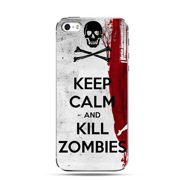 Etui Keep Calm and Kill Zombies