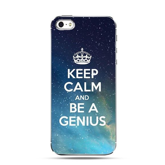 Etui Keep Calm and Be a Genius
