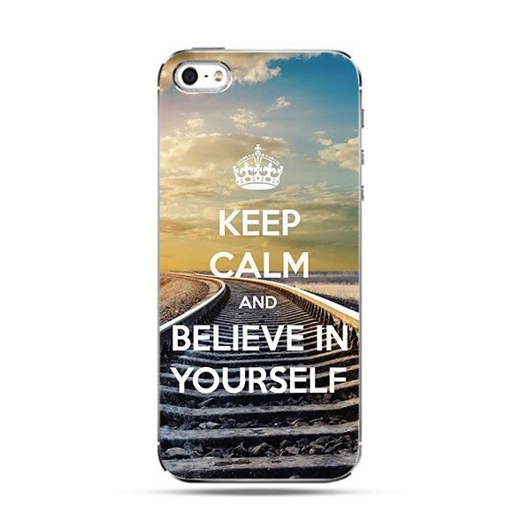 Etui Keep Calm and Believe in Yourself